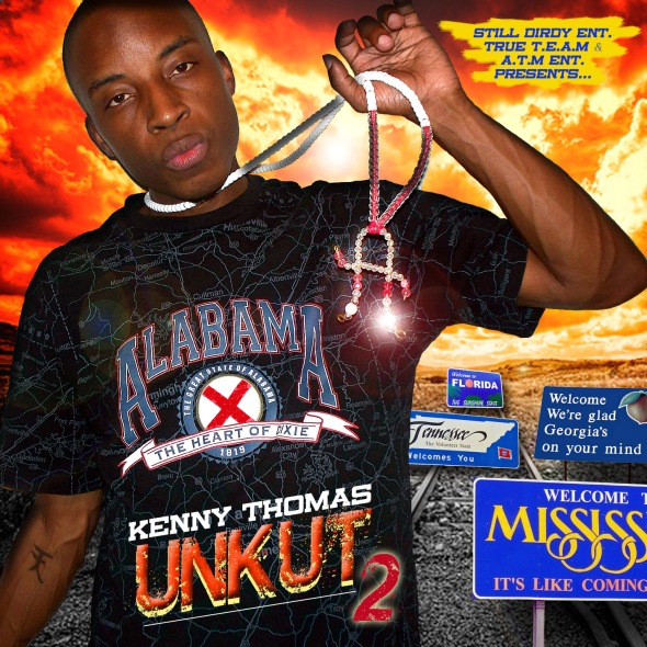 Kenny Thomas - Unkut Vol. 2 (Front Cover)