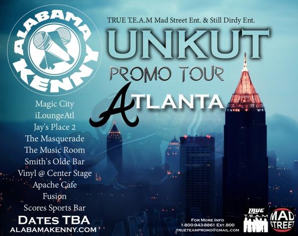 Unkut Promo Tour Flyer